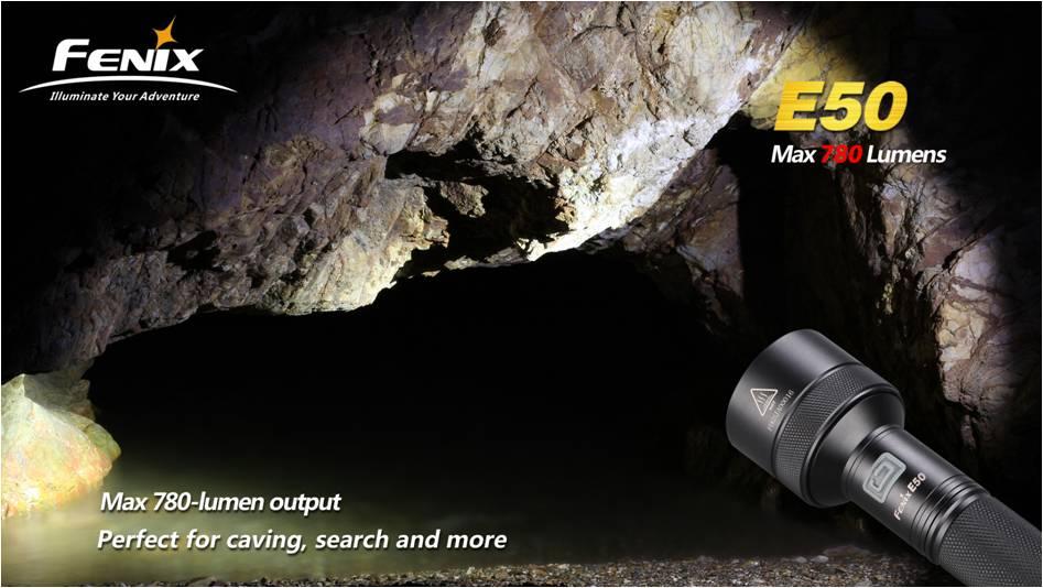 Fenix E50 для спелеологии, поисковых работ и подземных вылазок