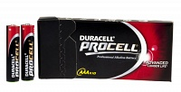 Алкалиновые элементы AAA Duracell Procell, 10 шт.
