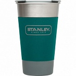 Пинта STANLEY Adventure 0.47L Stainless Steel Green
